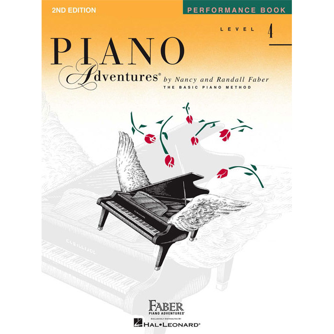 Hal Leonard Piano Adventures Level 4 Peformance Book 2nd Edition - Bananas At Large®