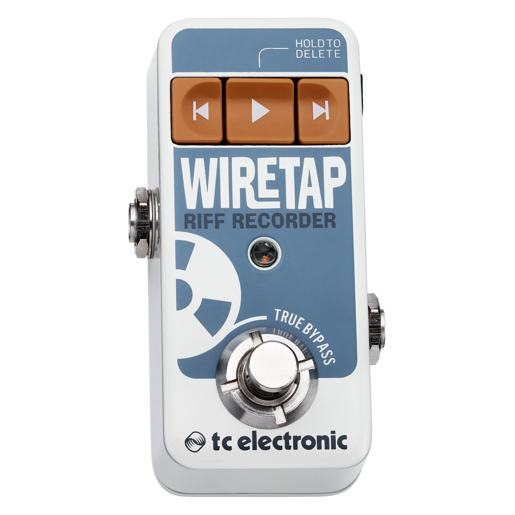 TC Electronic WireTap Riff Recorder Pedal - Bananas at Large - 1