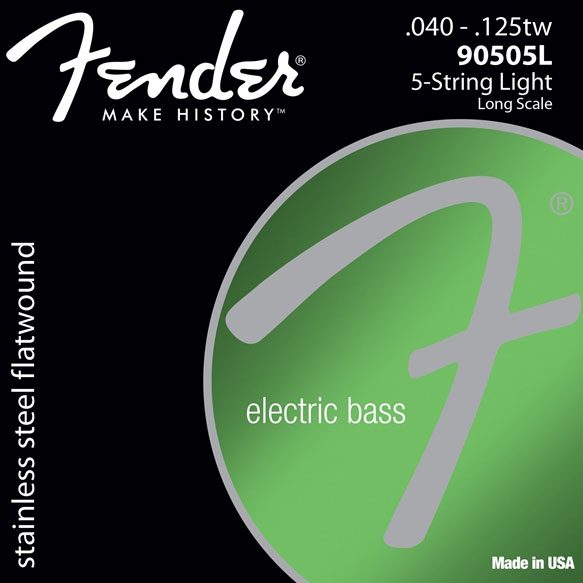 Fender 9050 Stainless Flatwound Bass Strings - V Strings - Bananas At Large®
