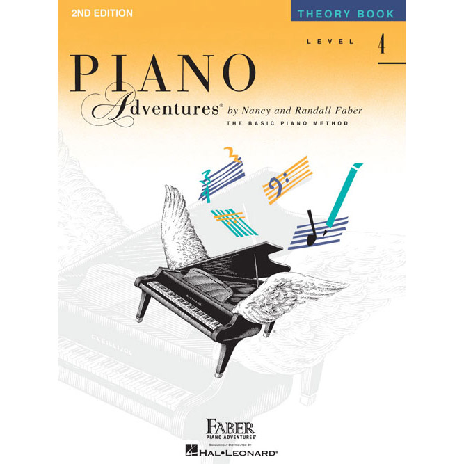 Hal Leonard Piano Adventures Level 4 Theory Book 2nd Edition - Bananas At Large®