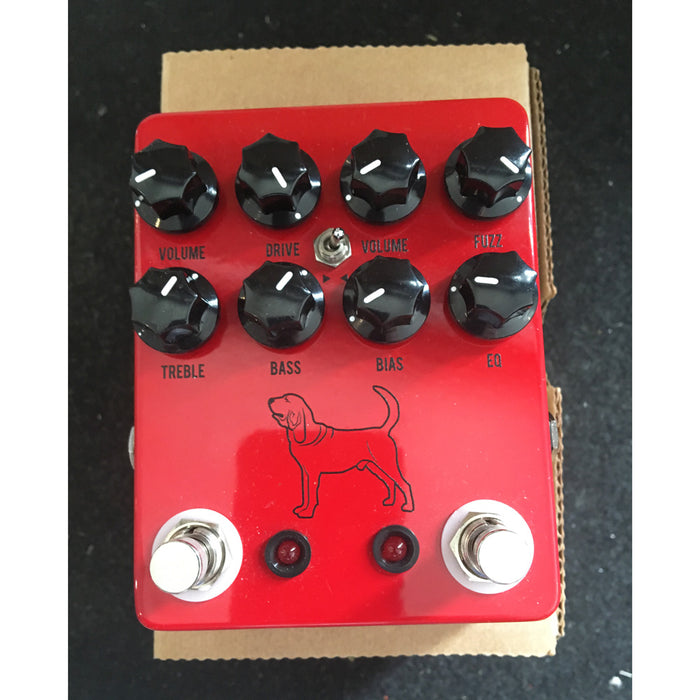 Used JHS Calhoun V2 Overdrive Fuzz Guitar Effects Pedal!