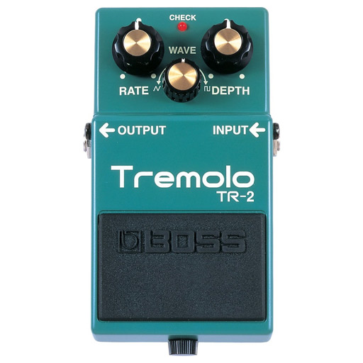 Boss TR-2 Tremolo Pedal - Bananas at Large