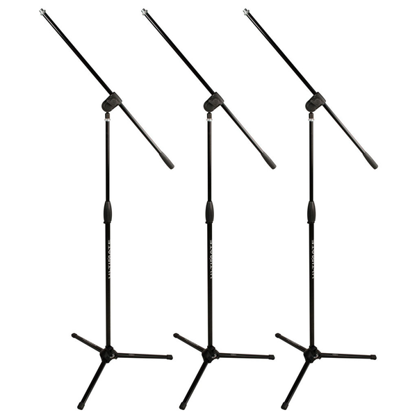 Ultimate Support MC-40 Pro 3 Pack Tripod Boom Mic Stands - Bananas at Large