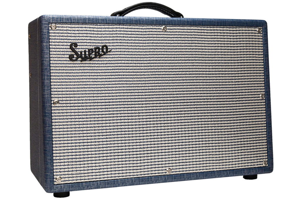 Supro 1650RT Royal Reverb 2x10 35-Watt Combo Amps