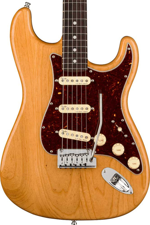 Fender American Ultra Stratocaster with Rosewood Fingerboard - Aged Natural
