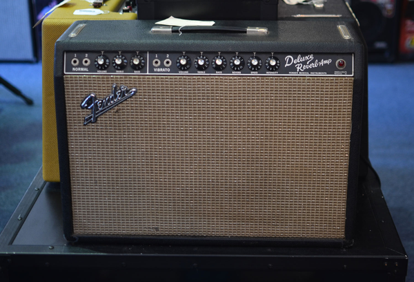 Fender Vintage 1965 Deluxe Reverb  (Joe Satriani Private Collection) (Pre-Owned)