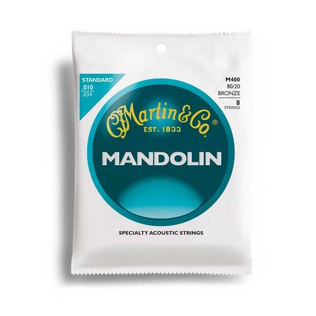 Martin M400 Mandolin Standard Strings - Bananas at Large