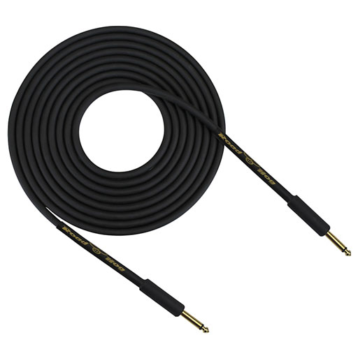 Rapco HOG-20BR Road Hog Straight to Right Angle Guitar Cable, 20 Feet - Bananas at Large