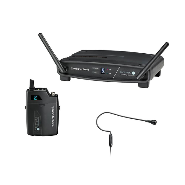 Audio Technica ATW-1101/H92 System 10 Wireless Headset Microphone System - Black - Bananas At Large®