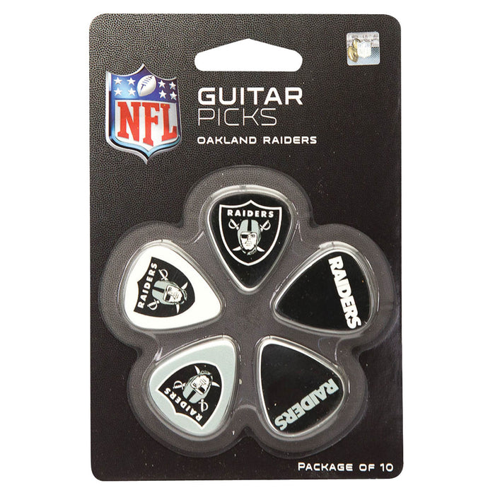 Hal Leonard Oakland Raiders Guitar Pick Pack