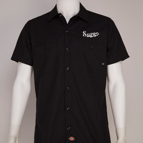 Supro Large Dickies Workshirt - Black