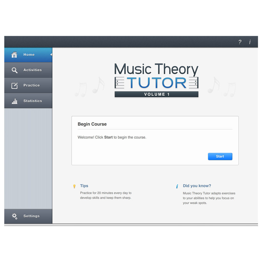 Adium Music Theory Tutor Volume 1 - Macintosh [Download] - Bananas At Large®
