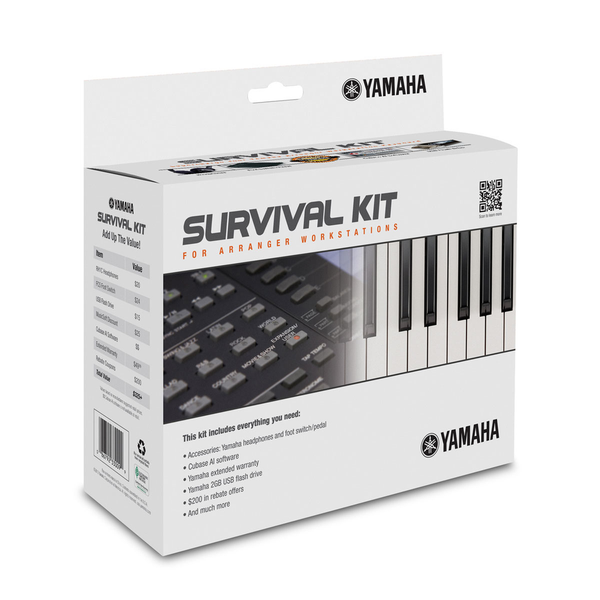 Yamaha SKAW Arranger Workstation Survival Kit - Bananas at Large - 1