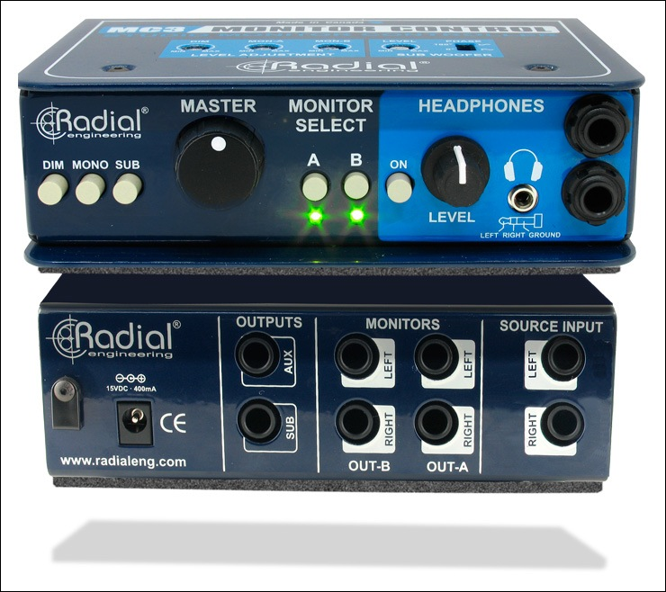 Radial Engineering MC3 v2 Monitor Controller - Bananas at Large - 2
