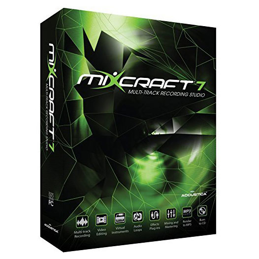 Acoustica Mixcraft 7 Windows Music Production Software [Download] - Bananas At Large®