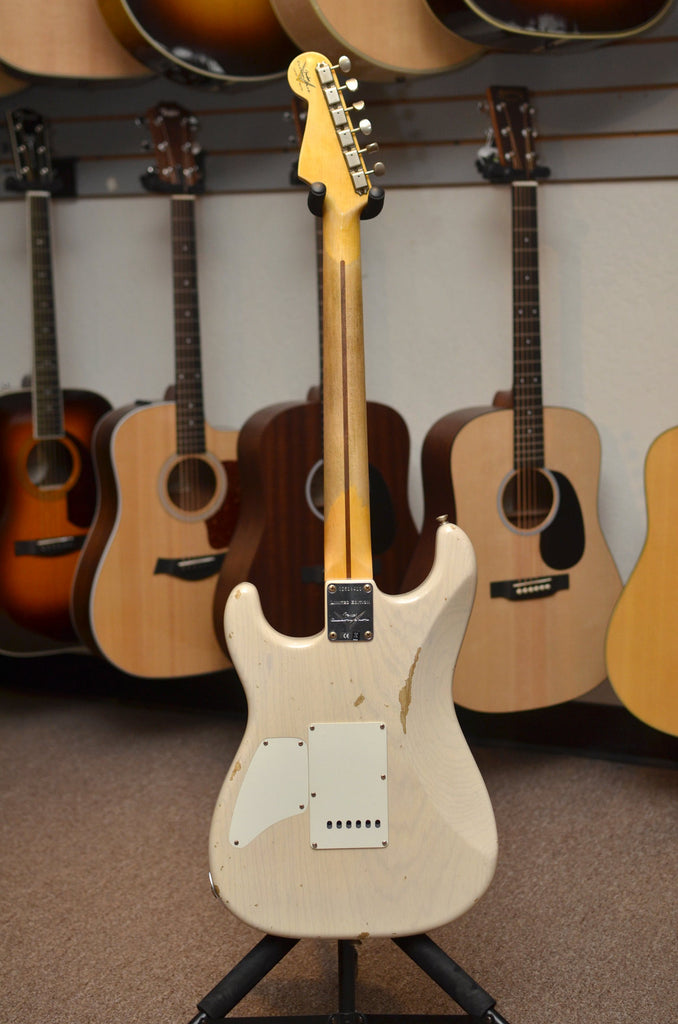 Fender Custom Shop Limited Edition Relic H/S Stratocaster - Aged White Blonde - Bananas at Large - 11