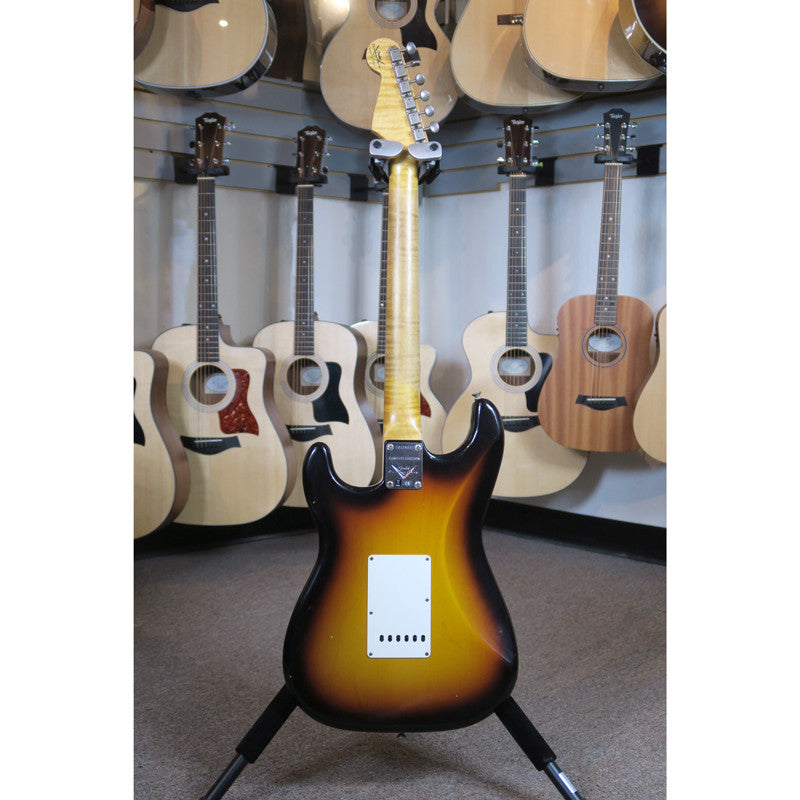 Fender Custom Shop Limited Edition 59 Special Stratocaster Journeyman Relic - Faded 3 Color Sunburst #007 - Bananas at Large - 9