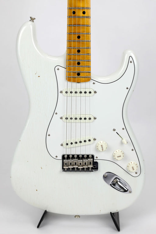 Fender Custom Shop Jimi Hendrix Voodoo Child Journeyman Relic Strat - Olympic White