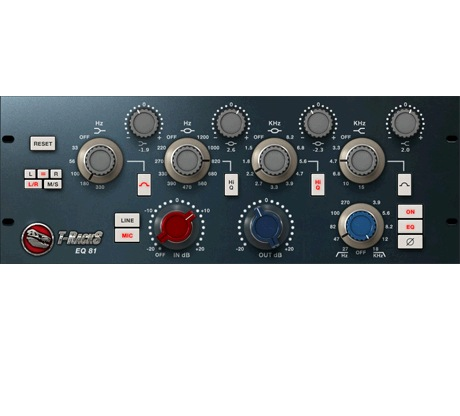 IK Multimedia T-RACKS SINGLE EQ 81 [Download] - Bananas At Large®