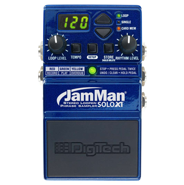 Digitech JamMan Solo XT Stereo Looping in a Compact Pedal with JamSync