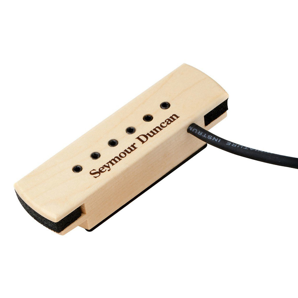 Seymour Duncan Woody XL Adjustable Pole Pieces Soundhole Pickup - Bananas at Large