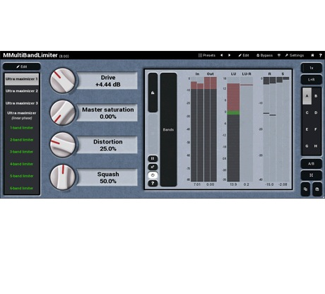 MELDA MMultiBandLimiter [Download] - Bananas at Large