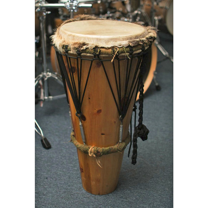 Ashiko Hand Drum Goat Head 27-Inch Pine Handmade (Pre-Owned) - Bananas At Large®