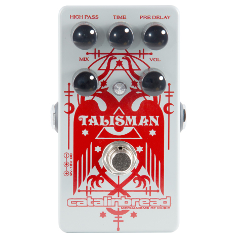 Catalinbread Talisman Plate Reverb Pedal - Bananas At Large®
