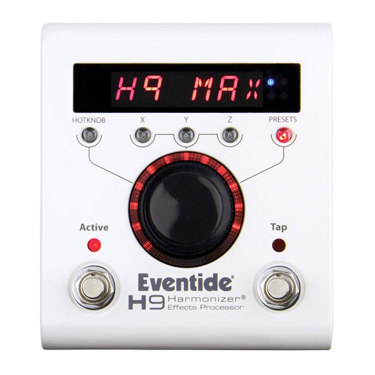 Eventide H9 MAX Multi FX pedal - Bananas at Large