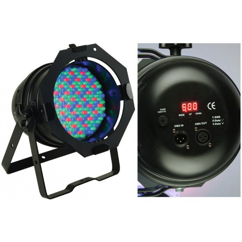 American DJ 64B LED Pro Par DMX LED - Black - Bananas At Large®