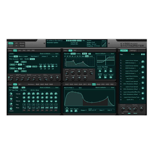KV331 Audio SynthMaster Semi-modular Synth with Effect [Download] - Bananas at Large