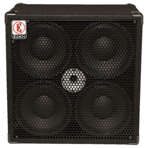 Eden EX Series EX410SC4 Cabinet 4x10 with Eden Designed Extended Range Speakers 400-Watt - Bananas at Large