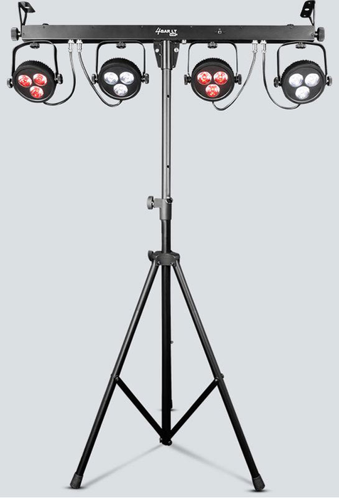 Chauvet 4BAR LT USB Includes: Carry Bag, Tripod, Tripod Carry Case, Footswitch, Hanging Bracket