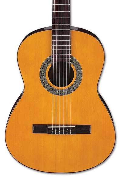 Ibanez GA3 Classical Acoustic Guitar - Amber High Gloss
