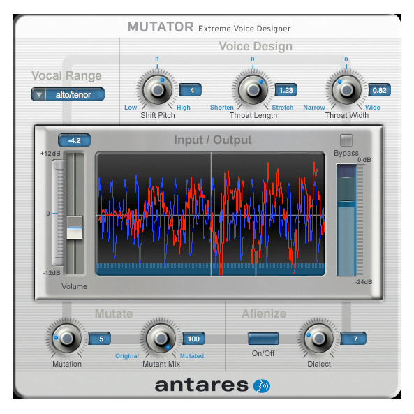 Antares 143591 Mutator Evo Extreme Voice Designer Plug-In [Download] - Bananas at Large