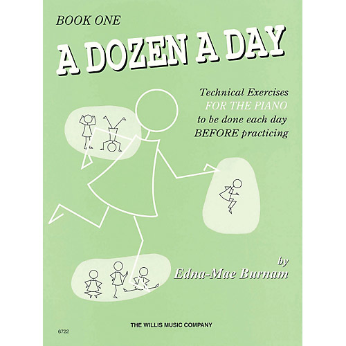 Hal Leonard A Dozen a Day Book 1 - Bananas At Large®