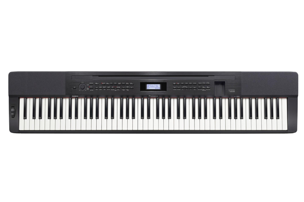 Casio PX-350MBK Privia 88-Key Scaled Hammer Action Piano Bundle CS67BK STAND - Bananas at Large