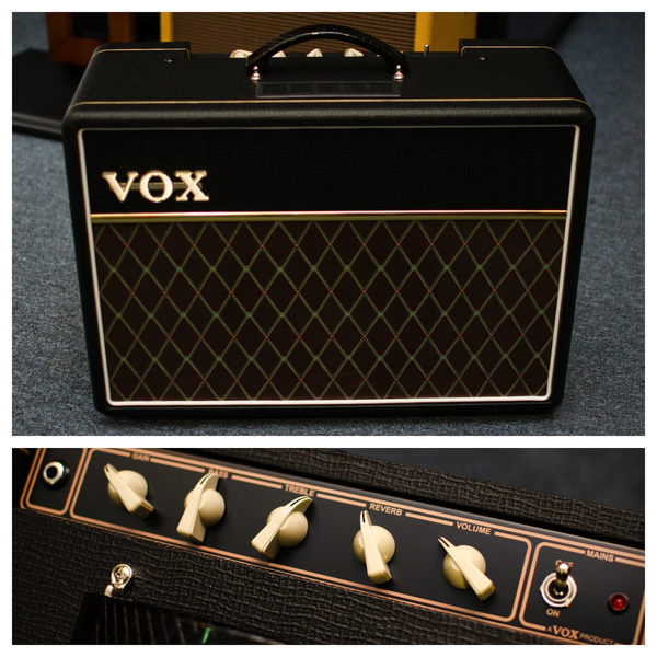 Vox AC10C1 Custom 1x10 Tube Guitar Combo Amp - Bananas at Large