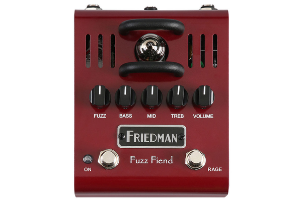 Friedman FUZZ FIEND Tube Powered Fuzz Pedal with Extreme Switch