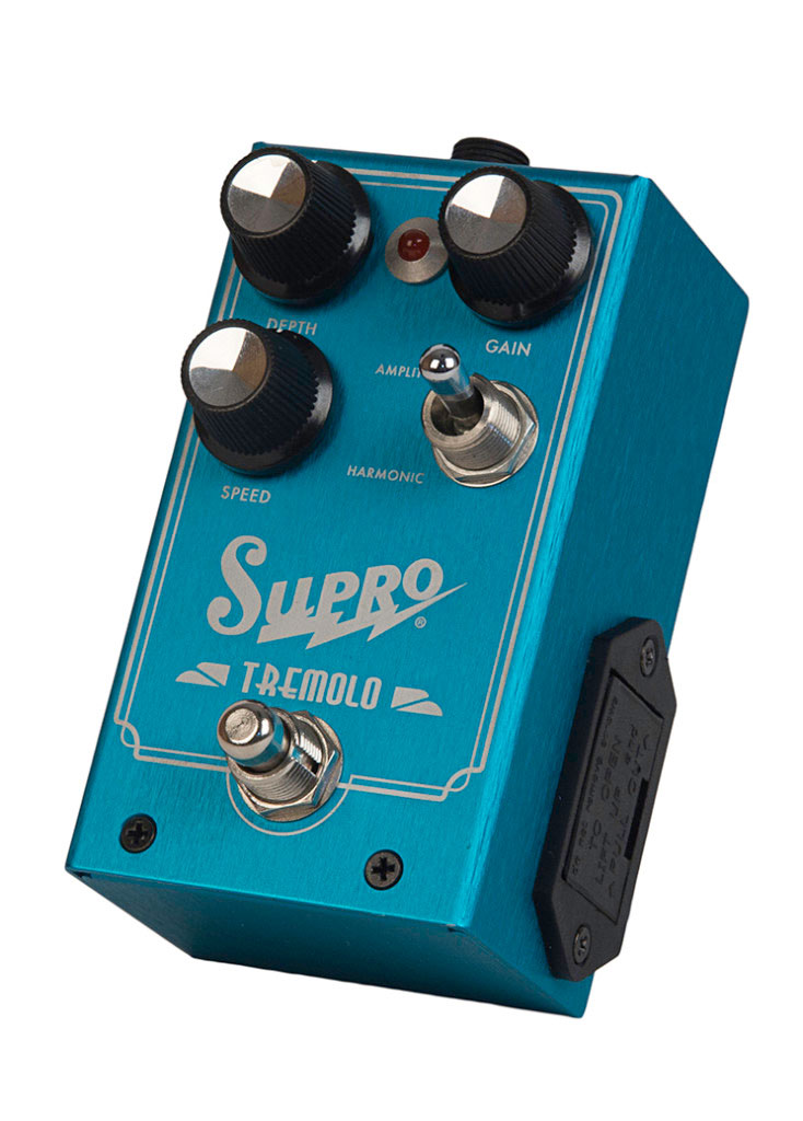 Supro 1310 Tremolo Pedal - Bananas at Large - 2