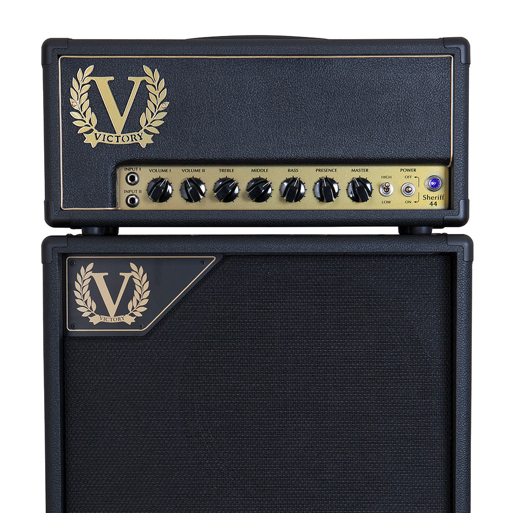 Victory Amplification Sheriff 44 Hand Wired 44 watt All Valve Tube Head - Bananas at Large - 3