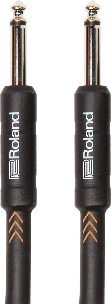 Roland RIC-B3 Black Series 3ft Instrument Cable with Straight 1/4 in. jacks - Bananas at Large