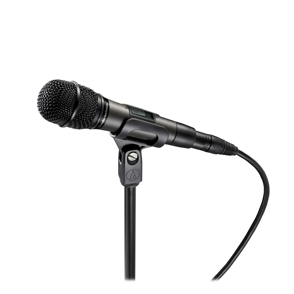 Audio Technica ATM610A/S Hypercardioid Dynamic Handheld Microphone with Switch - Bananas At Large®