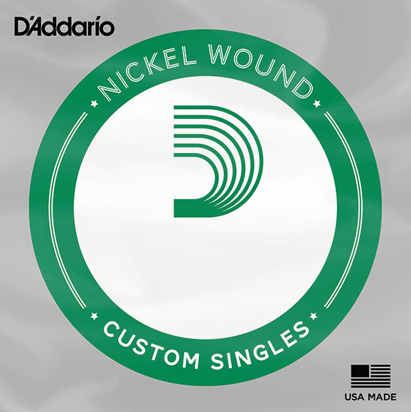 D'Addario NW038 Single Nickel Wound Electric Guitar String