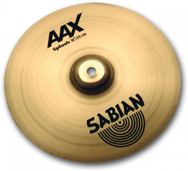 Sabian 21005XB 10 in. AAX Splash Brilliant Finish - Bananas at Large - 1
