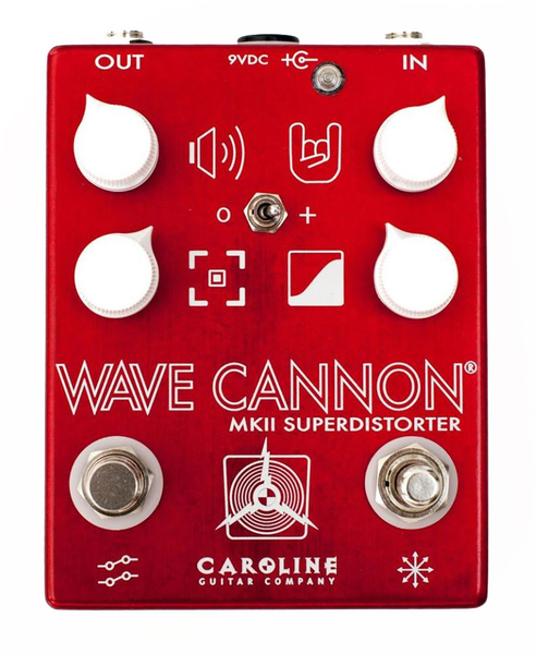 Caroline Guitar Company Wave Cannon MKII Superdistorter Distortion Pedal - Bananas at Large