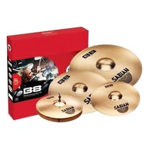 Sabian B8X Promo Performance Set Plus (FREE 18 Inch Thin Crash) - Bananas at Large