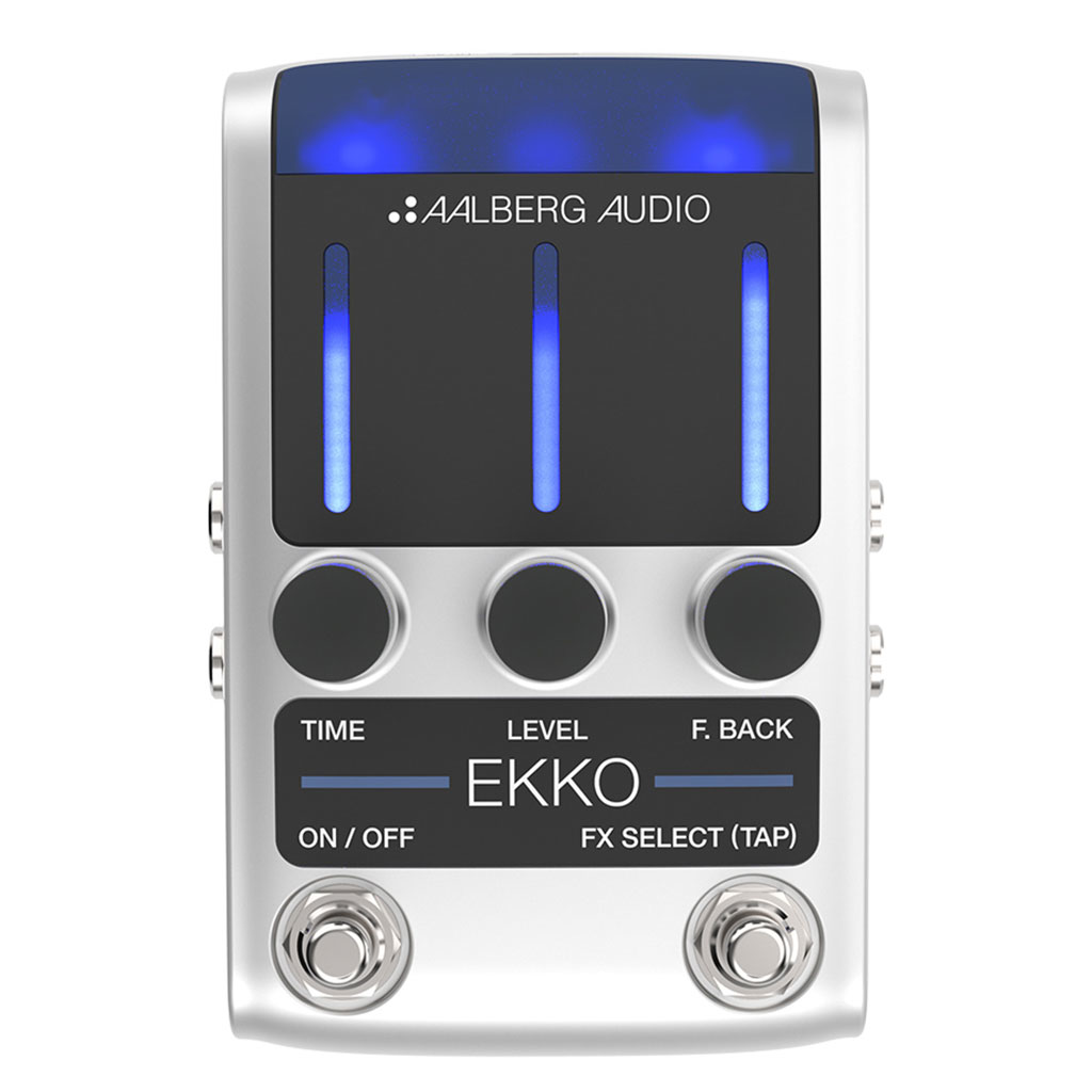 Aalberg EKKO EK-1 Delay Pedal - Bananas At Large®