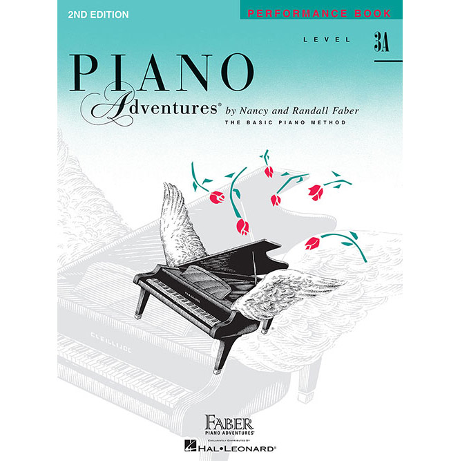 Hal Leonard Piano Adventures Level 3A Peformance Book 2nd Edition - Bananas At Large®