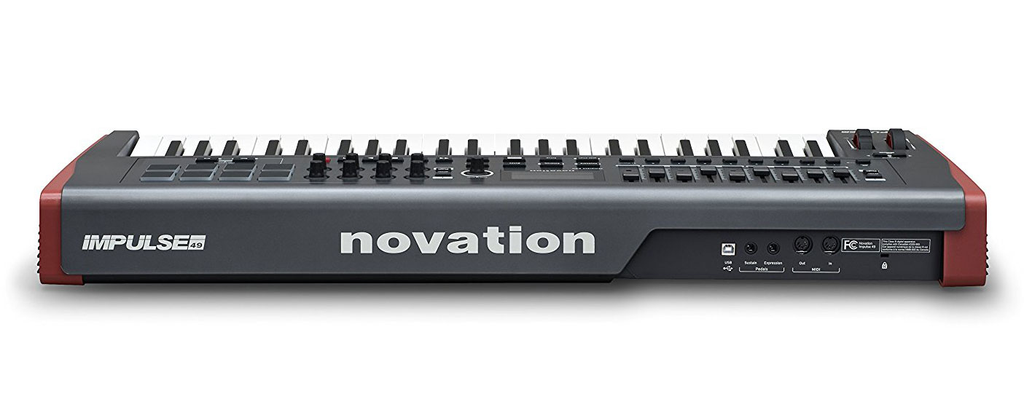 Novation Impulse 49 USB 49-Key MIDI Controller